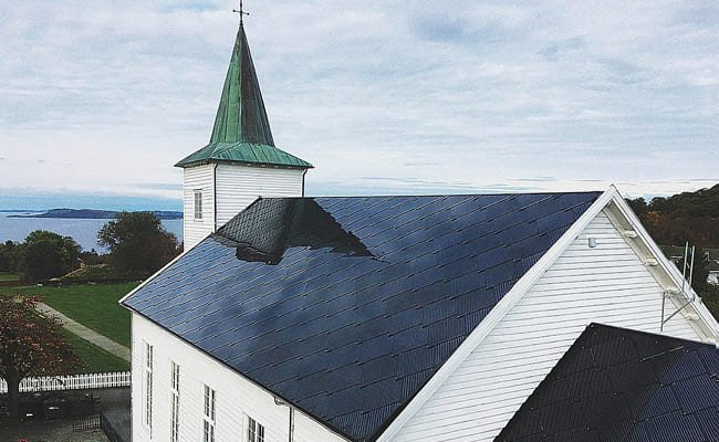 Toiture solaire d'une école maternelle, Ipsach, Suisse