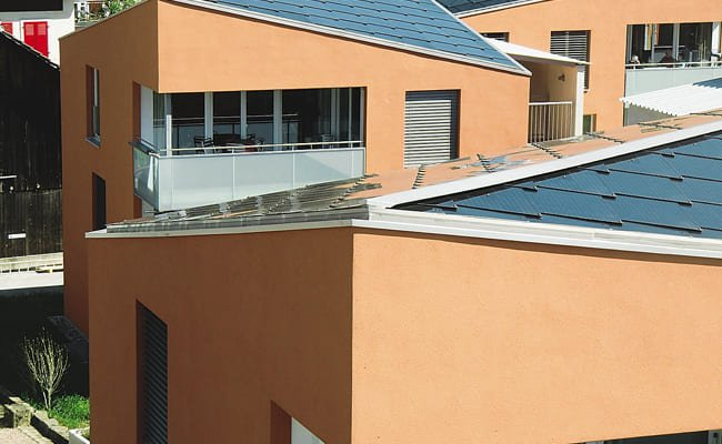 Toit solaire complexe résidentiel, Bâle