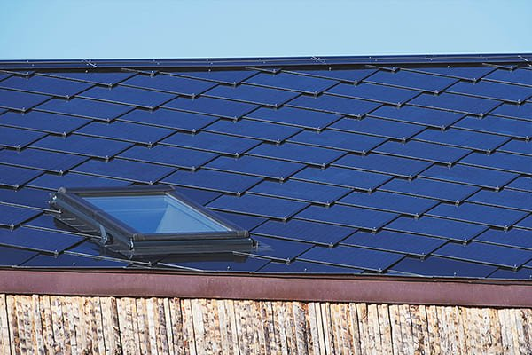 SunStyle Solar Roof - close up